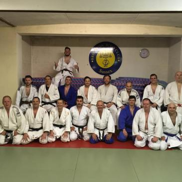 Last randori session at Dorset Gardens Dojo 2017