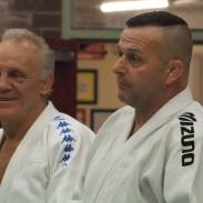 Sensei Brian Jacks & Sensei Chris Cooper from Worthing Judo Club